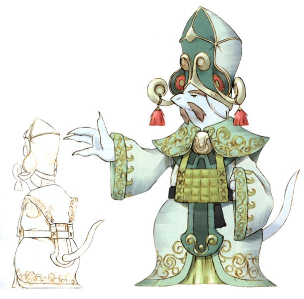 Concept art of the High Priest